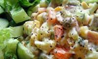 サラダの食材とレシピ