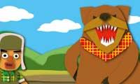 ロシア童話を読もう「男とクマ」